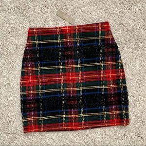NWT J. Crew Plaid Stewart Tartan Skirt